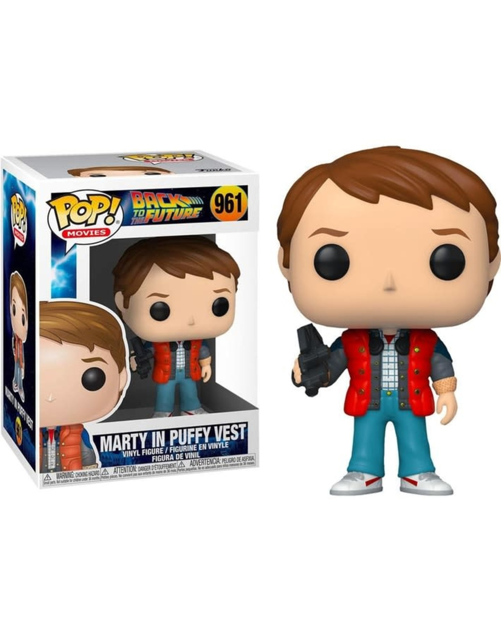 Funko BACK TO THE FUTURE POP! N° 961 - Marty in Puffy Vest