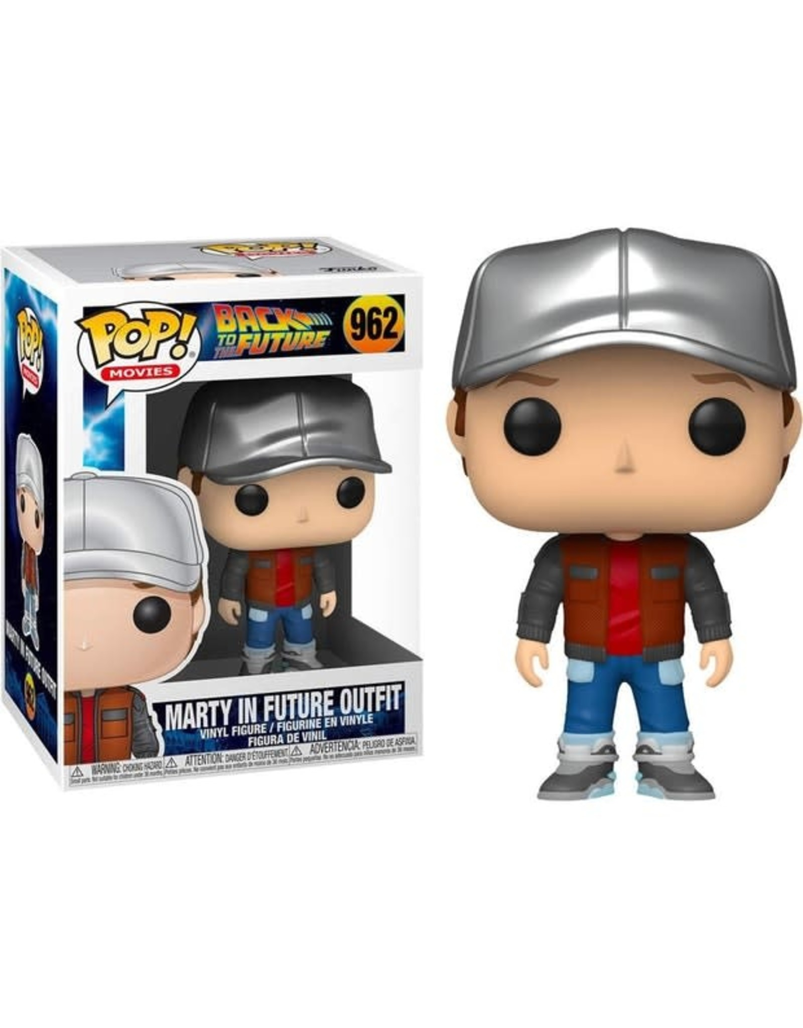 Funko BACK TO THE FUTURE POP! N° 962 - Marty in Future Outfit