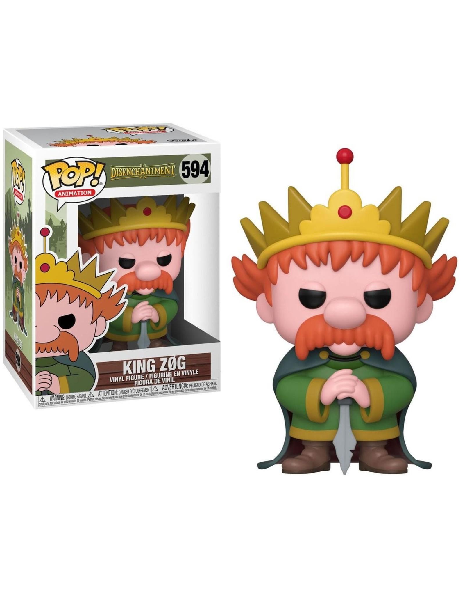 Funko DISENCHANTMENT POP! N° 594 - King Zog