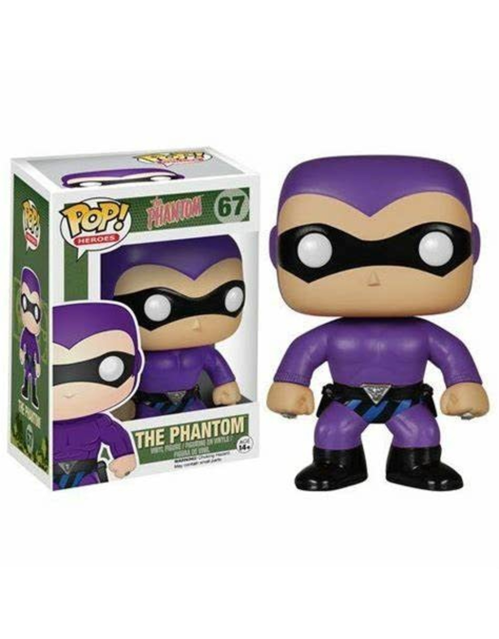 Funko HEROES POP! N° 67 - The Phantom