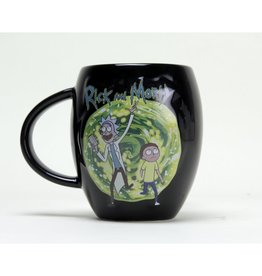 Hole in the Wall RICK AND MORTY Oval Mug 475 ml - Portal