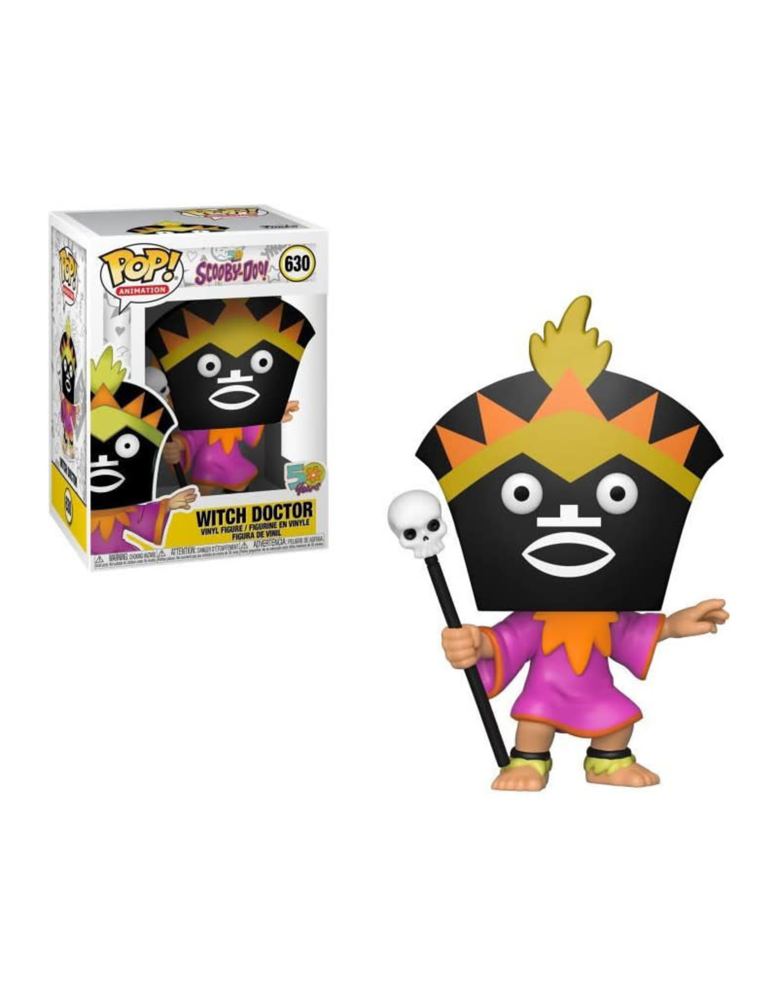 Funko SCOOBY DOO POP! N° 630 - Witch Doctor