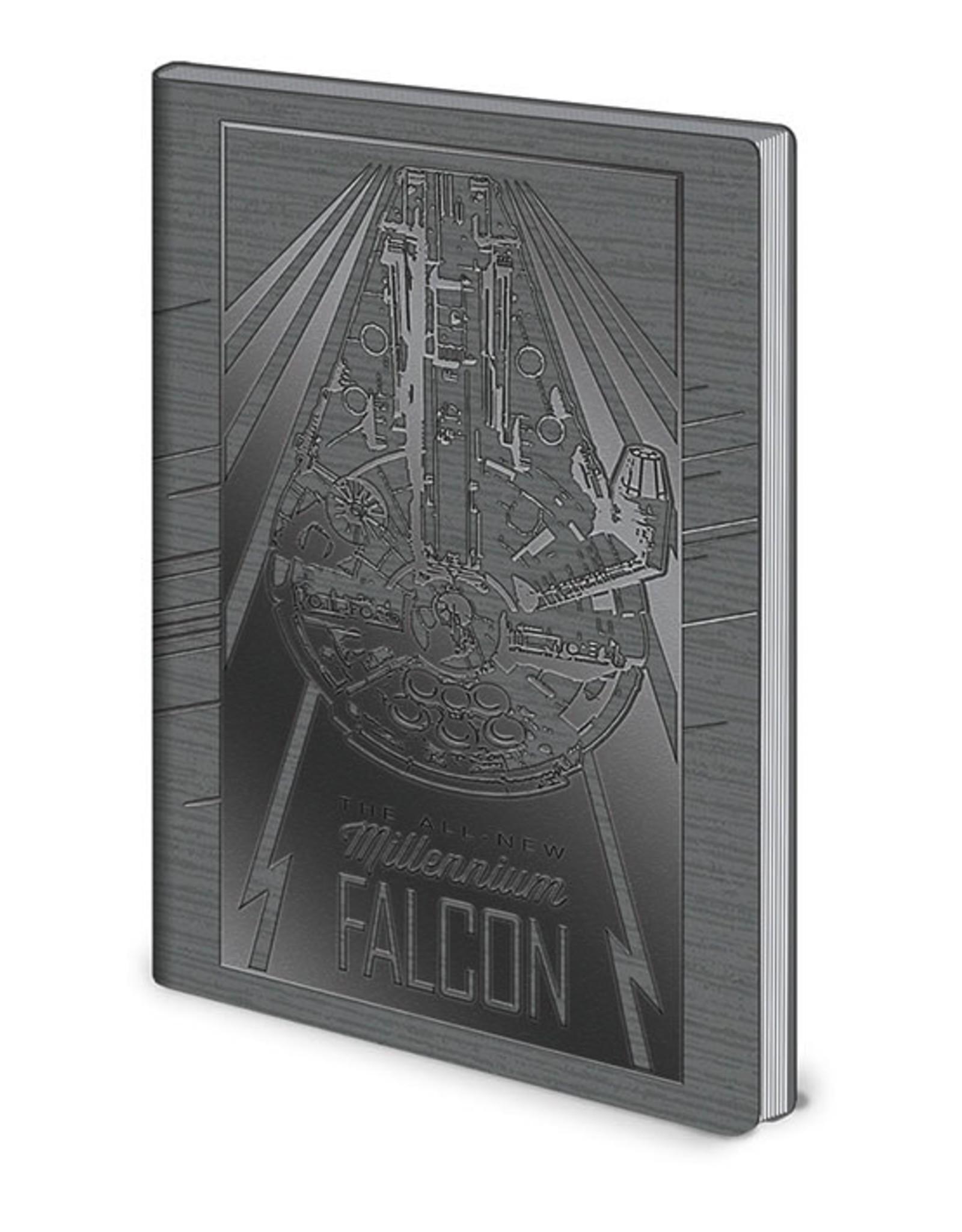 STAR WARS  Notebook A5 Premium - Millennium Falcon