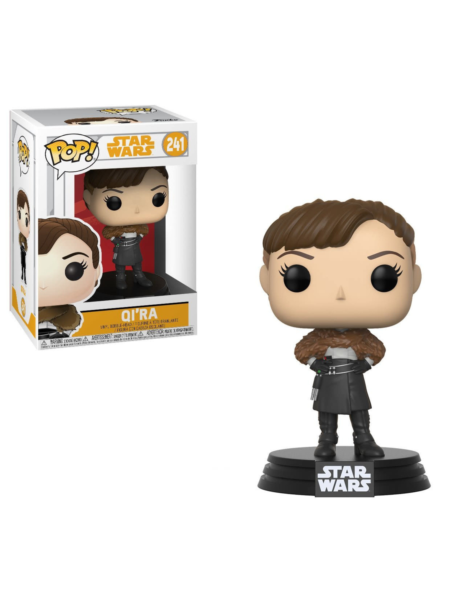 Funko STAR WARS POP! N° 241 - Solo: Qi'Ra