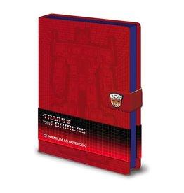 TRANSFORMERS - Notebook A5 Premium - Optimus Prime