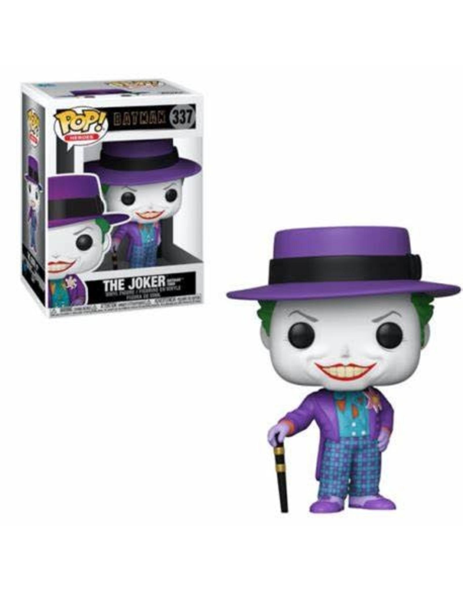 Funko BATMAN 1989 POP! N° 337 - Joker with Hat