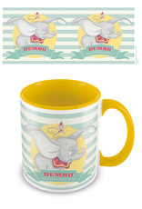 DUMBO Coloured Inner Mug - The Flying Elephant Yellow