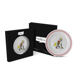 LUCKY LUKE - Dinner Plate 23 cm - Luke + Jolly Jumper