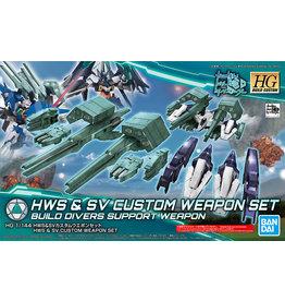 Bandai GUNDAM Model Kit HG - HWS & SV Custom Weapon Set