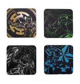 MARVEL - Avengers - Set of 4 coasters