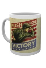 CALL OF DUTY WWII Mug 300 ml - Push for Victory