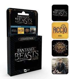 FANTASTIC BEASTS - Official Coaster Pack - Mix