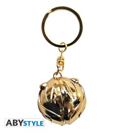 HARRY POTTER - Keychain Metal 3D - Golden Snitch