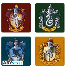 ABYstyle HARRY POTTER Set 4 Coasters - Houses