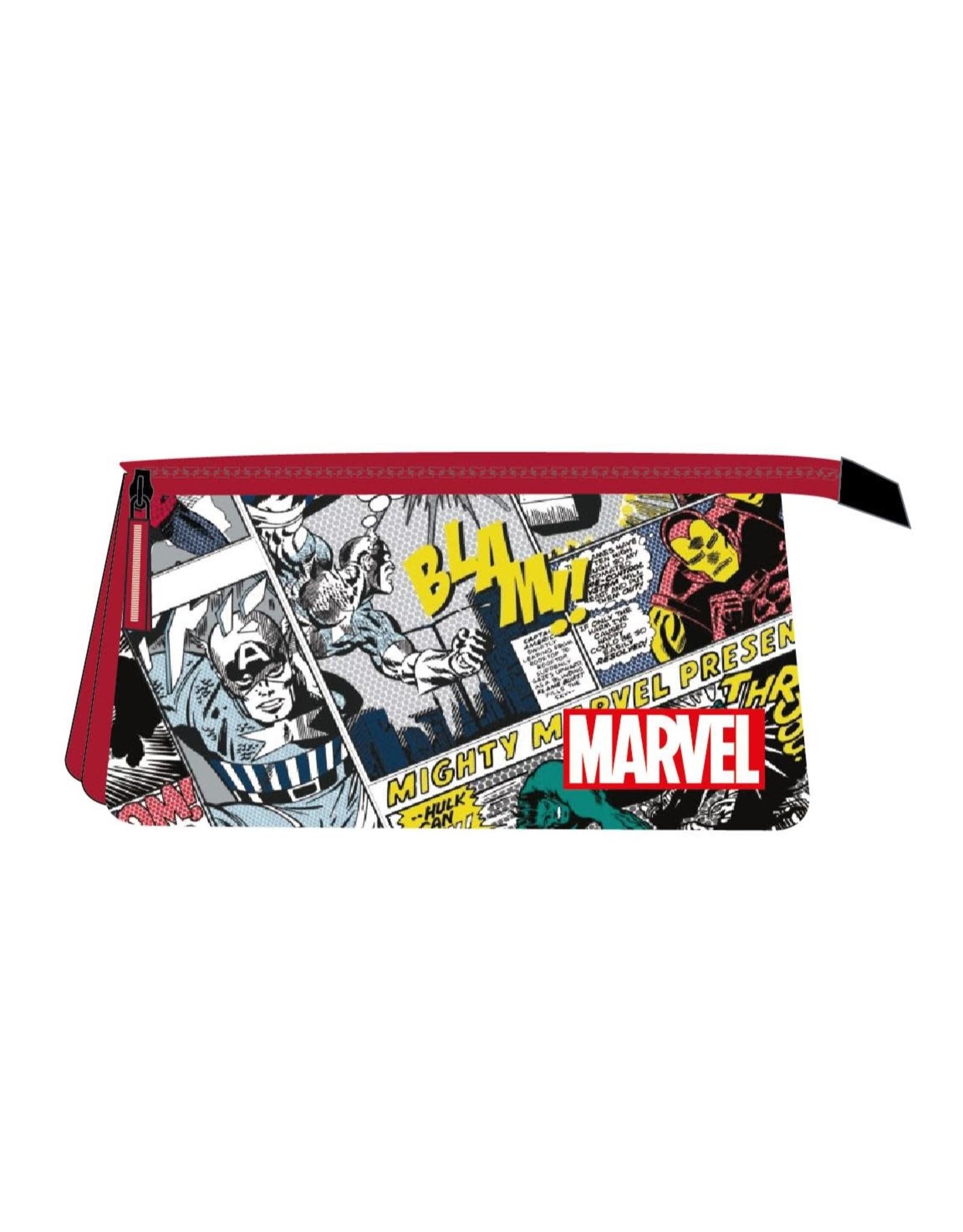 MARVEL - 3 Zippers Pencil Case
