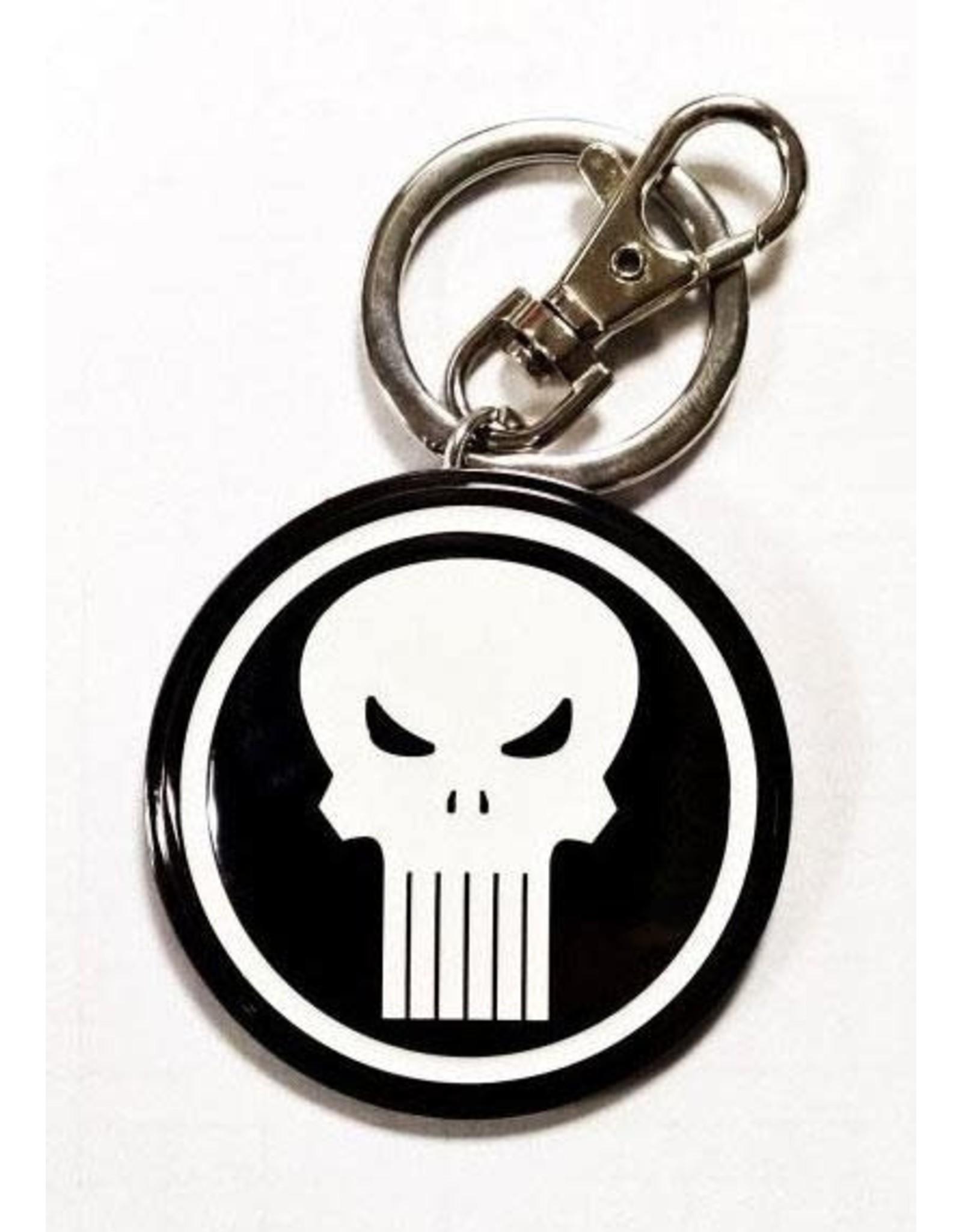 MARVEL - 3D Metal Keychain Blister Box - Punisher Logo