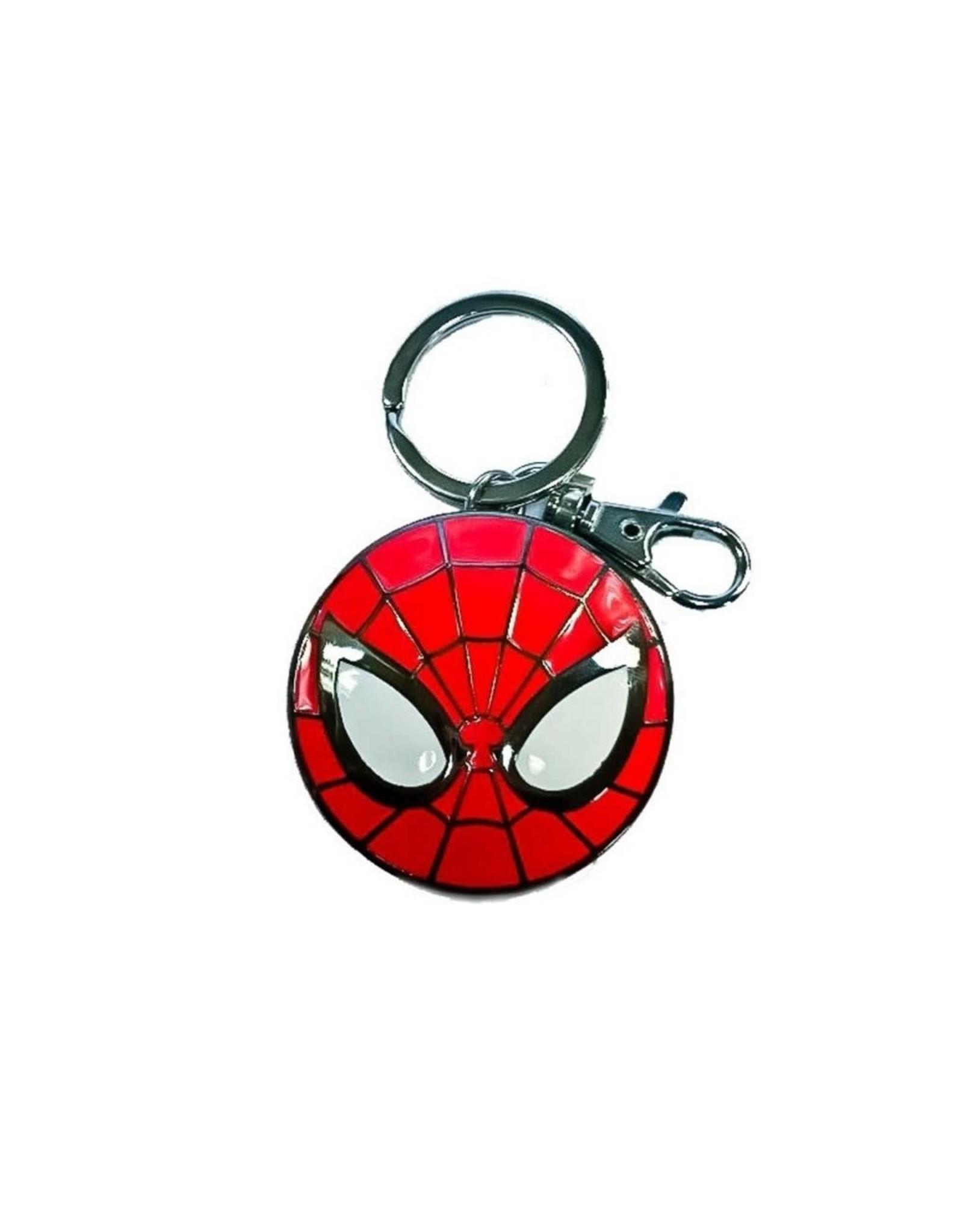 MARVEL - 3D Metal Keychain Blister Box - Spider-man Logo