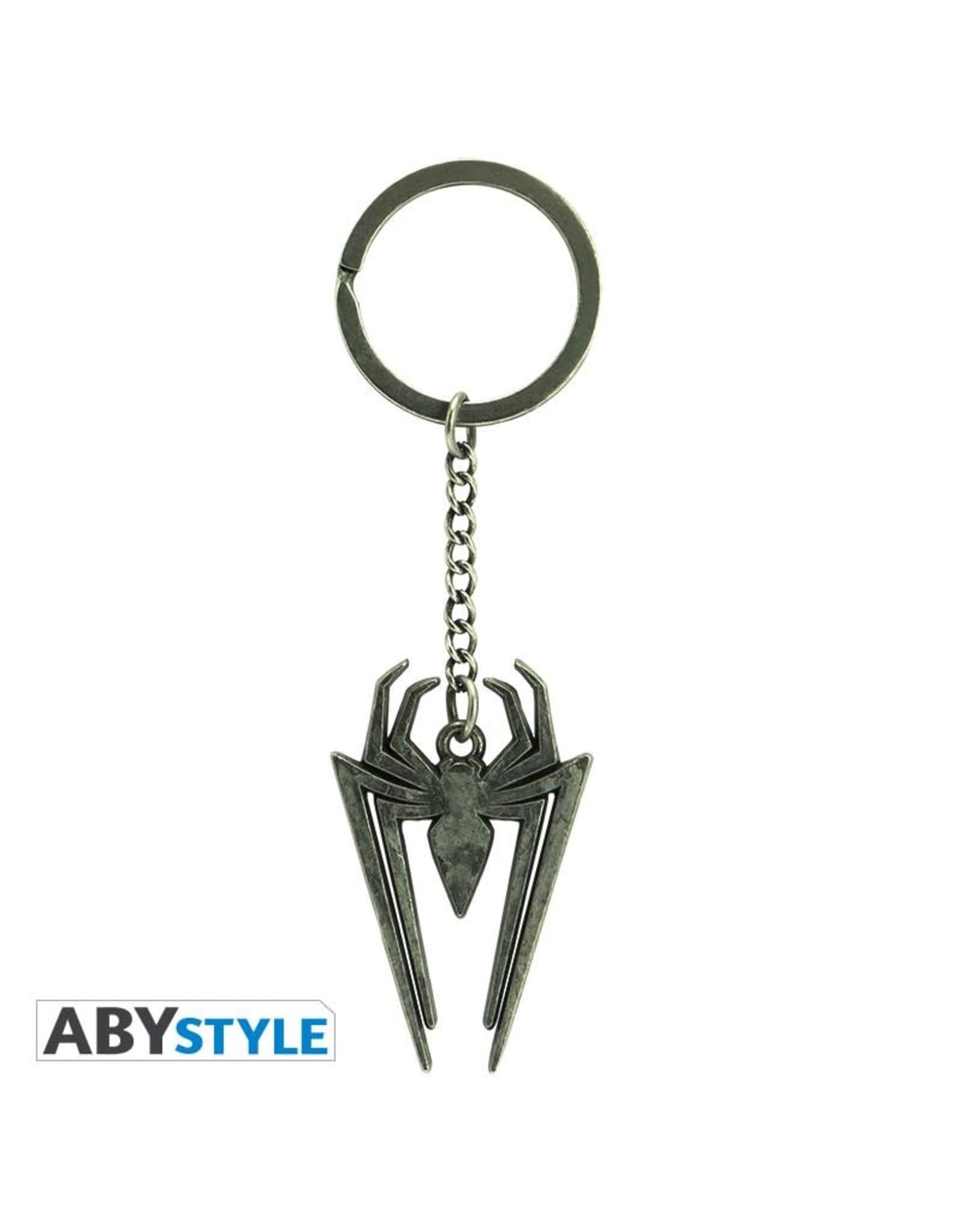 MARVEL - Keychain Metal 3D - Spider-Man Emblem
