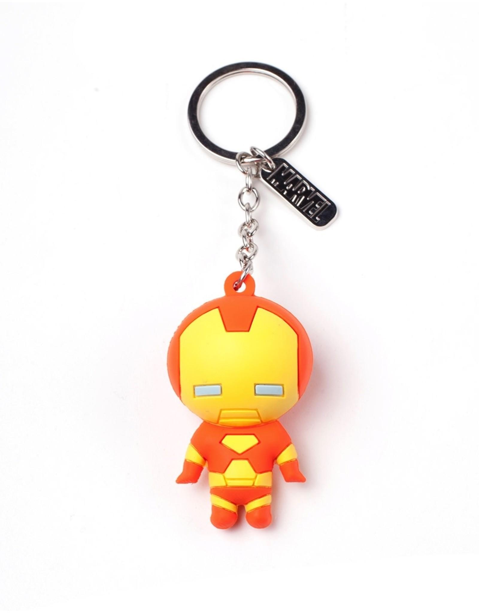 MARVEL - Rubber 3D Keychain - Iron Man