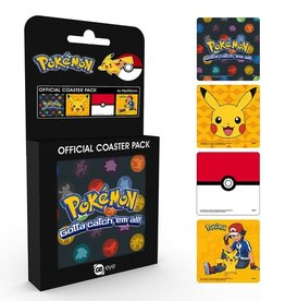 POKEMON - Official Coaster Pack - Mix
