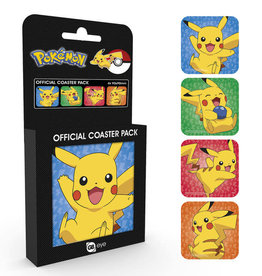 POKEMON - Official Coaster Pack - Pikachu