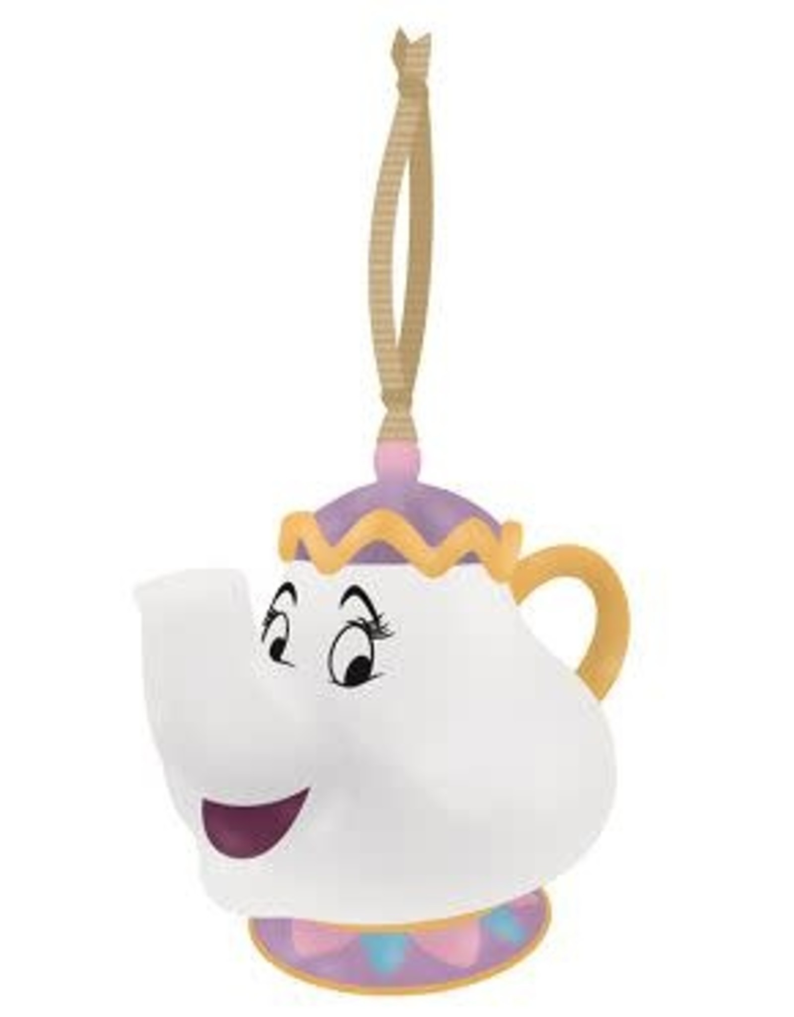 BEAUTY AND THE BEAST Hanging Decoration 5cm - Mrs Potts