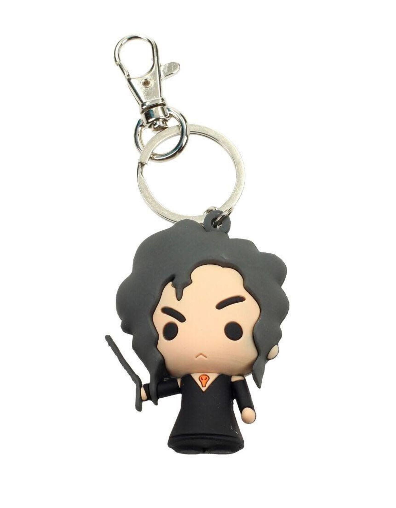 HARRY POTTER - Rubber Figure Keychain - Bellatrix Lestrange