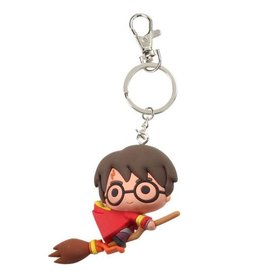 SD Toys HARRY POTTER Rubber Figure Keychain - HARRY POTTER Quidditch
