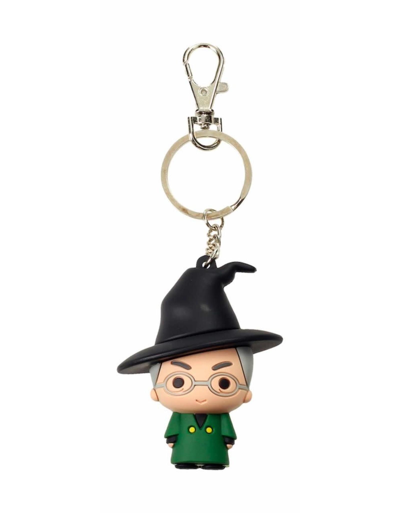 HARRY POTTER - Rubber Figure Keychain - Mc Gonagall