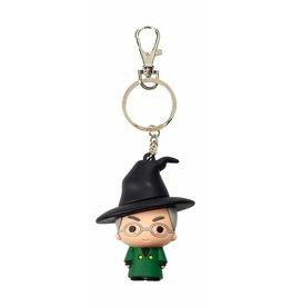 SD Toys HARRY POTTER Rubber Figure Keychain - Mc Gonagall