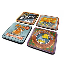 SIMPSONS - Official Coaster Pack - Moe's Tavern