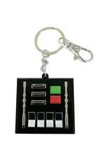 STAR WARS - Snap Keychain - Darth Vader Control Panel