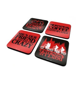 STRANGER THINGS - Official Coaster Pack - Phrases