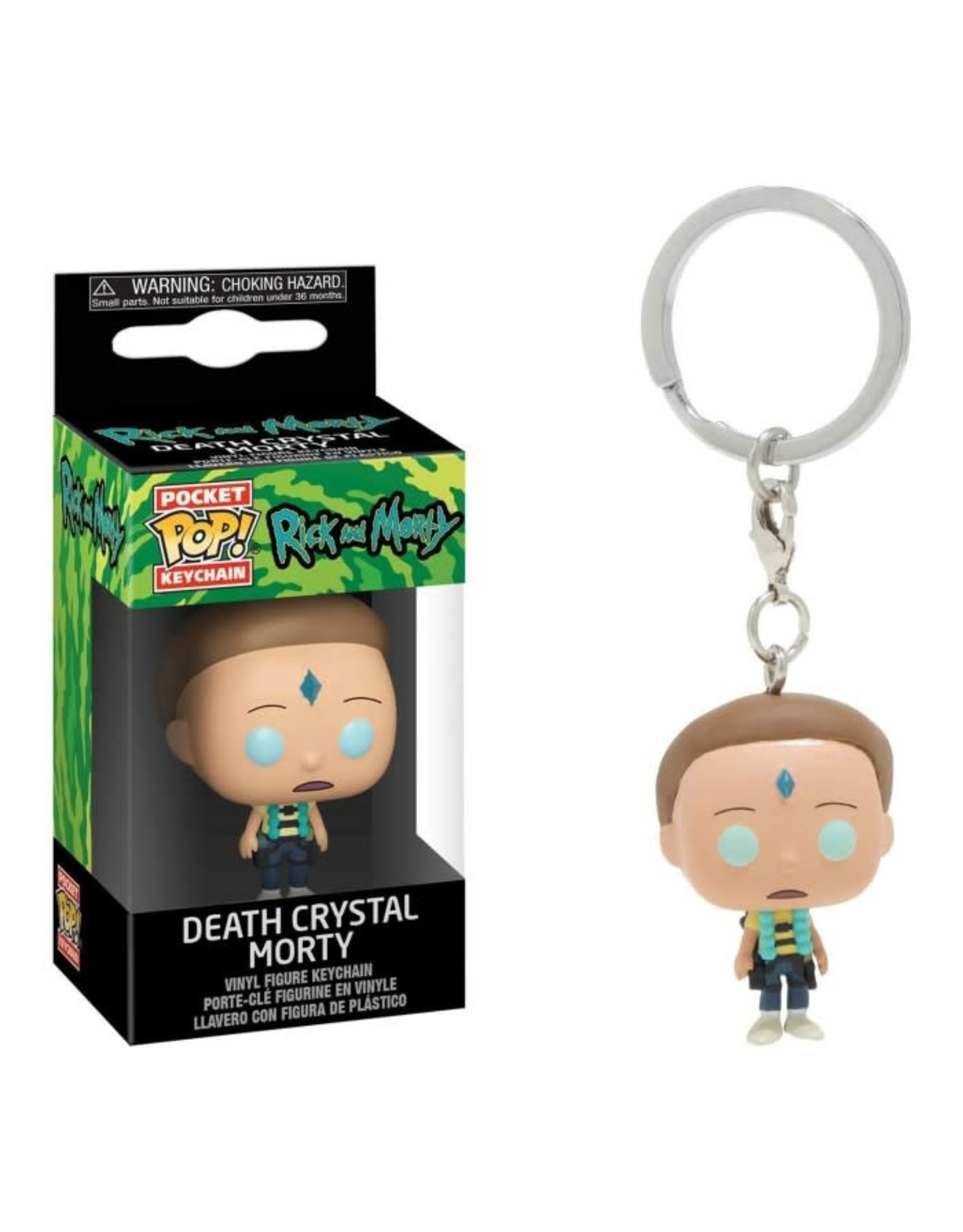 Funko RICK AND MORTY Pocket POP! 4cm - Death Crystal Morty