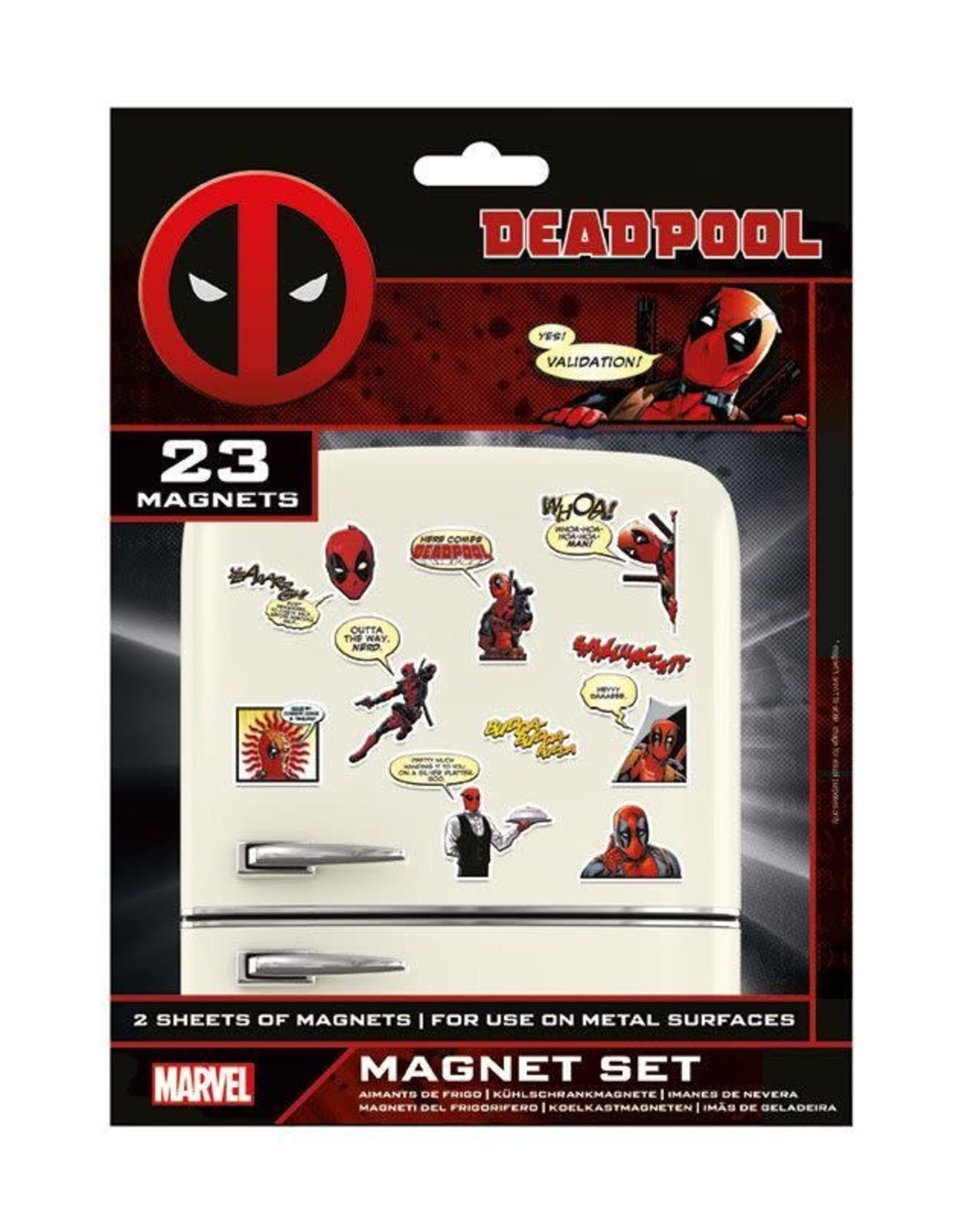 DEADPOOL - Magnet Set - Comic