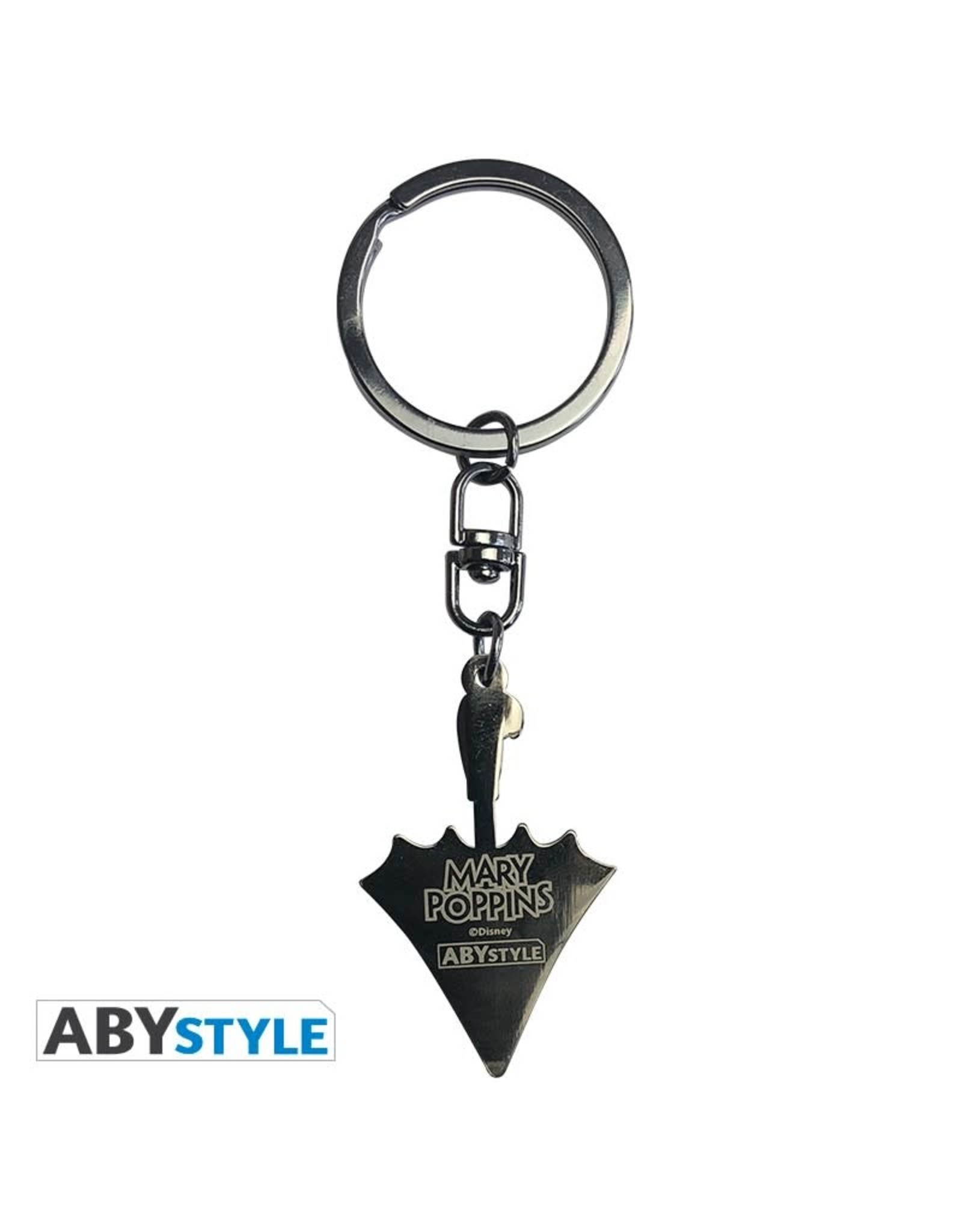 MARY POPPINS Metal Keychain - Umbrella
