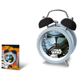 Euroswan STAR WARS Twinbell Alarm Clock - Trooper