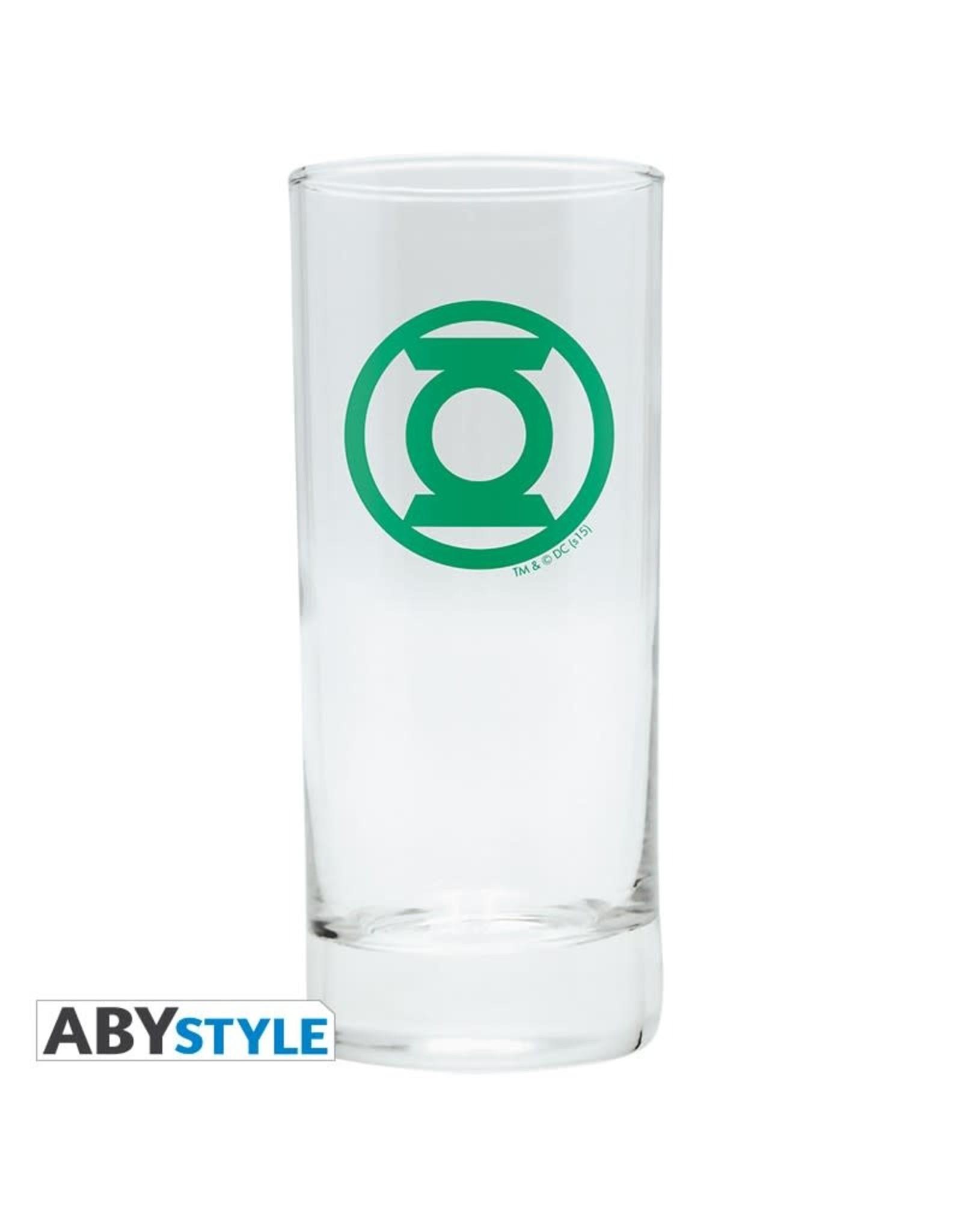 DC COMICS - Glass - Green Lantern Logo