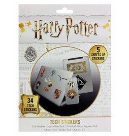 Hole in the Wall HARRY POTTER Tech Stickers Pack - Artefacts