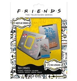Hole in the Wall FRIENDS Tech Stickers Pack - How You Doin'