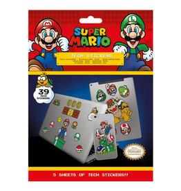 SUPER MARIO Tech Stickers Pack - Mushroom Kingdom