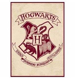 HARRY POTTER - Magnet Metal 6.5 X 9cm - Hogwarts Crest