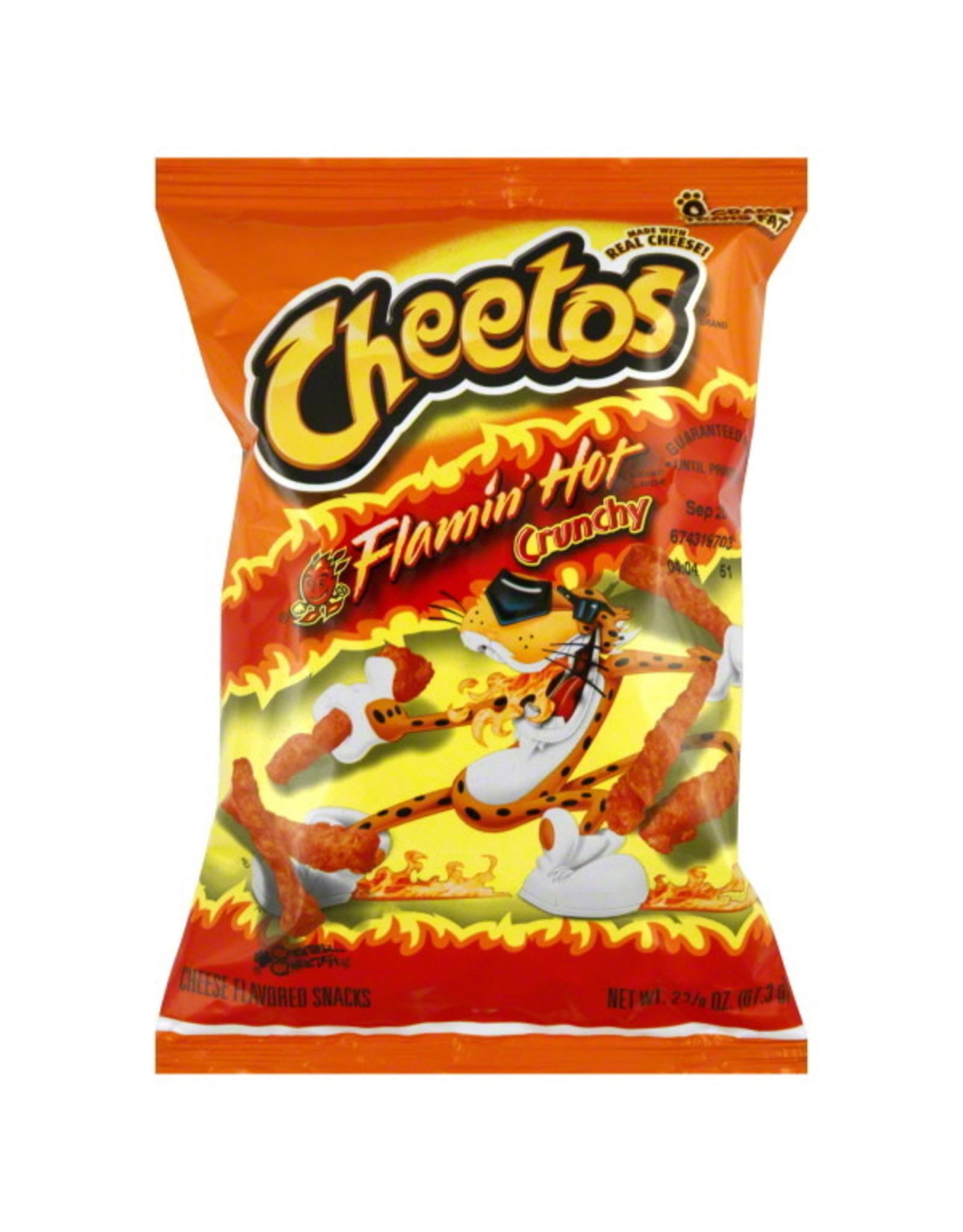 Frito-Lay CHEETOS Crunchy Flamin' Hot LARGE