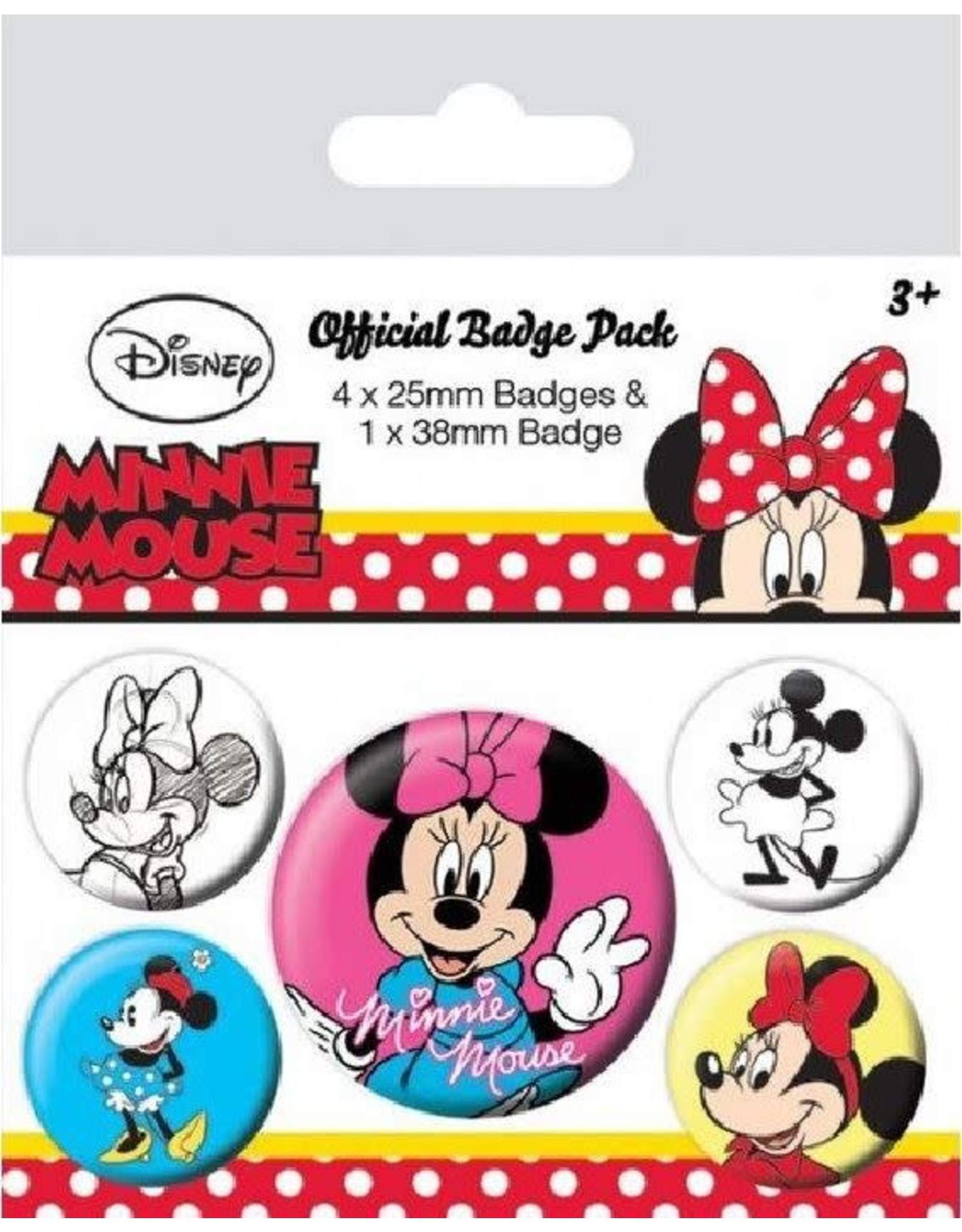 MINNIE MOUSE 5-Pack Badges