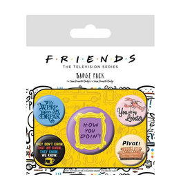 Hole in the Wall FRIENDS 5-Pack Badges - Quotes