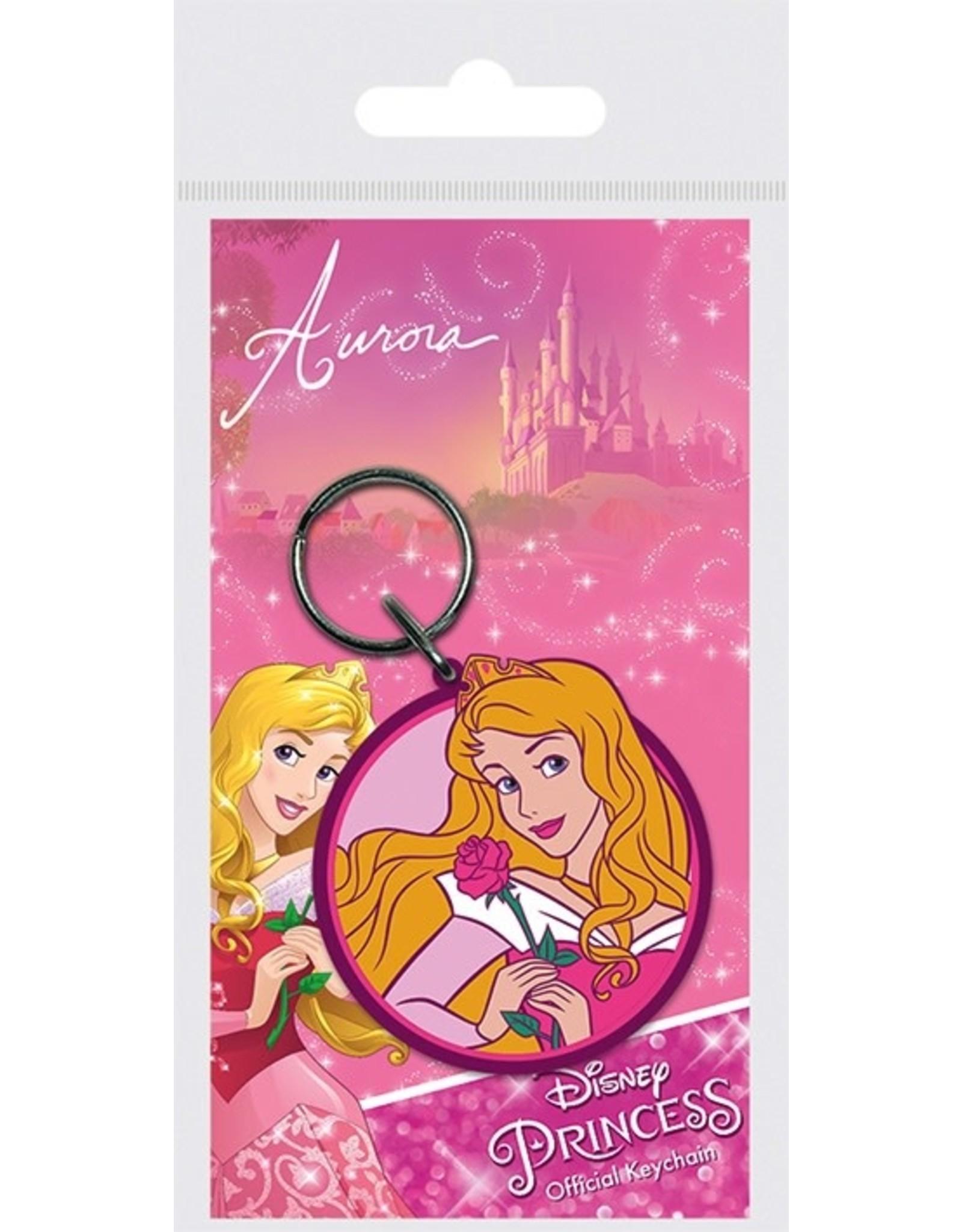 DISNEY PRINCESS Rubber Keychain - Aurora