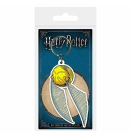 HARRY POTTER - Rubber Keychain - Snitch