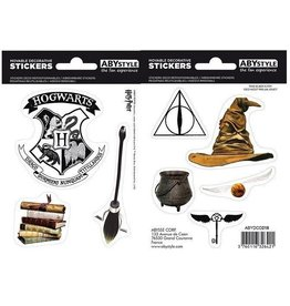 HARRY POTTER - Stickers - 16x11cm / 2 sheets - Magical Objects