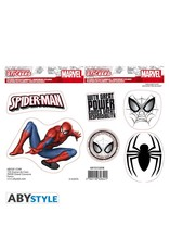 MARVEL - Stickers - 16x11cm / 2 Sheets - Spiderman
