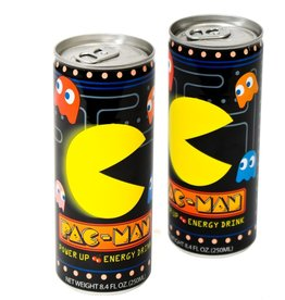 Boston America PAC-MAN Power Up Energy Drink